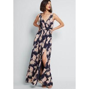 Modcloth Embracing Grace Maxi Dress
